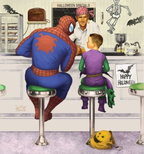 Rockwell_Spiderman
